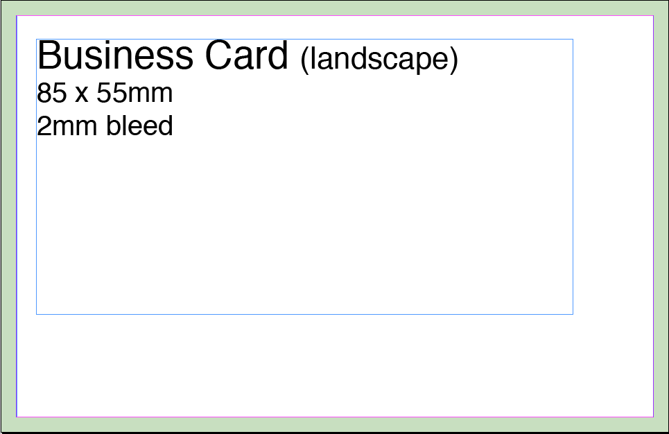 business card artwork template - Template For Business Cards